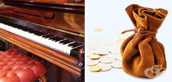 61-годишният Бадхаус е поканен в колеж в Англия, за да настрои пиано, дарено от семейство. Мъжът открива 7 торби с монети на стойност 640 000 долара. Той получава награда за намереното съкровище.