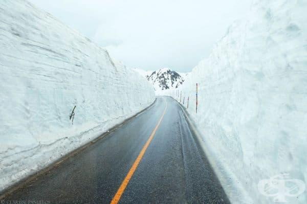 Планинският проход е отворен само няколко месеца – от април до средата на юни.