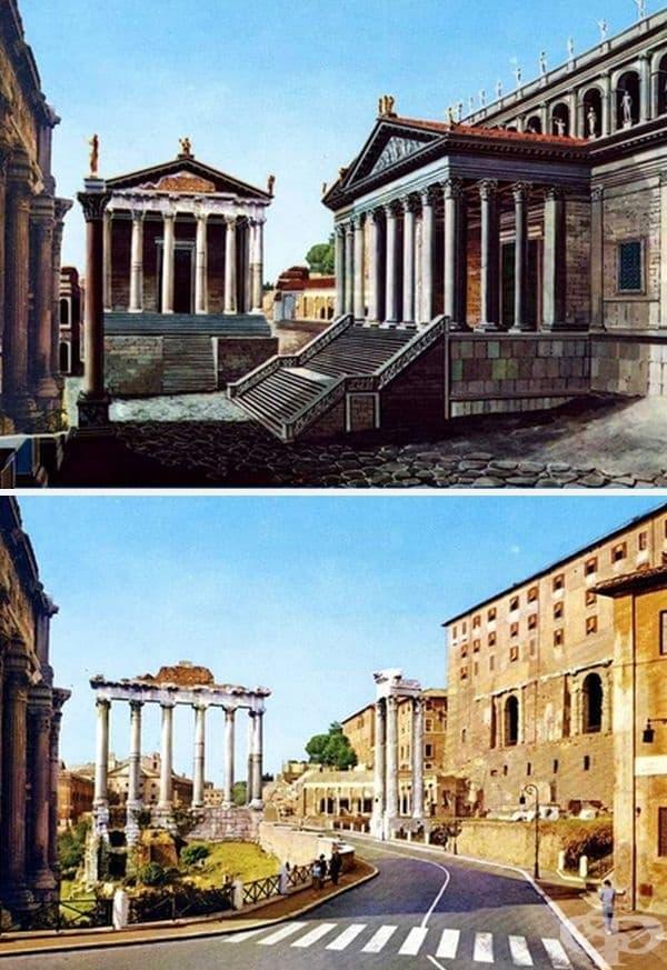 Храмът на Сатурн и Храмът на Конкордия