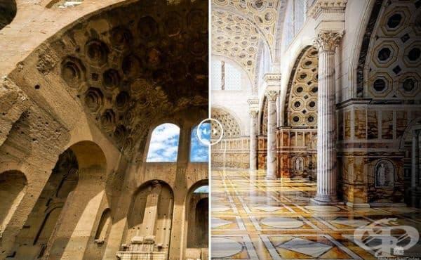 Базиликата на Максенций (Рим, Италия)