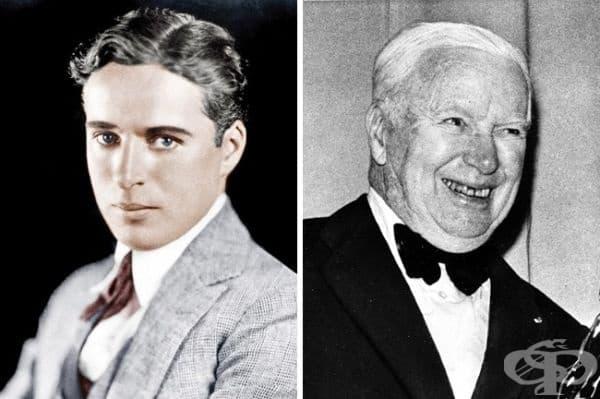 Виждали ли сте Чарли Чаплин в напреднала възраст? Ето го и него!