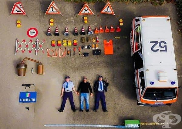 Полицията в Ньошател, Швейцария