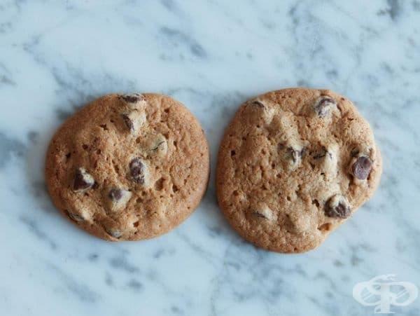 2 шоколадови бисквити = 100 калории