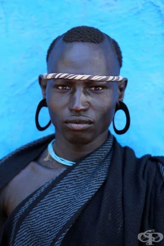 Мъж от племето Боди.