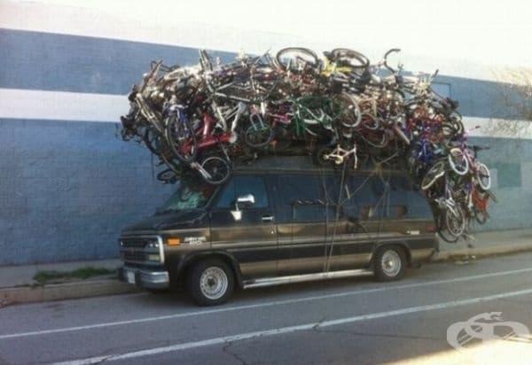Велосипeдите никога не са твърде много, винаги може и още!