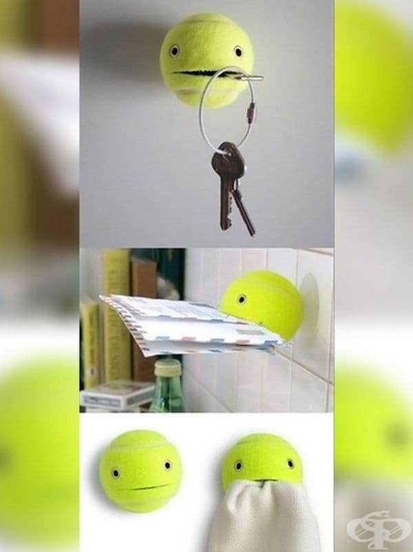 Иноваторска закачалка за ключове, писма и друго.