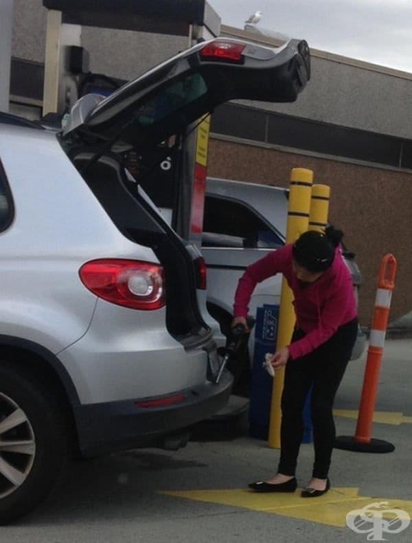 Защо да не измиете бронята с бензин от бензиноколонката?