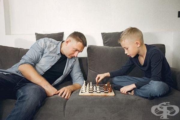 Шахът е много добра игра и развива мисълта.