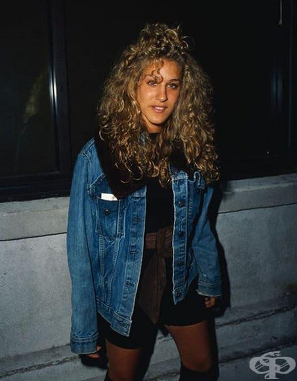 Сара Джесика Паркър - фотографирана от Бари Кинг през 80-те.