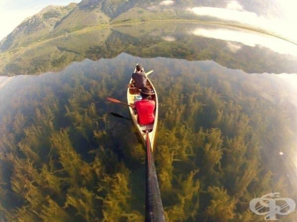 Езеро Матезе Казерта, Италия.