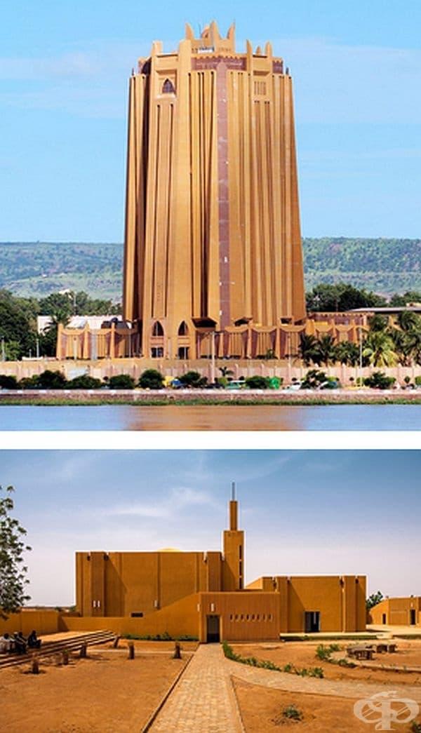 Модерна судано-сахелска архитектура