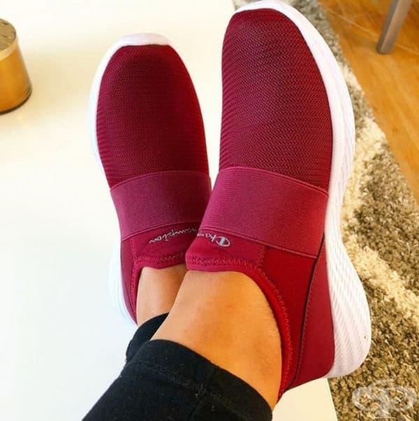 Важно е рано да подберете удобни обувки.