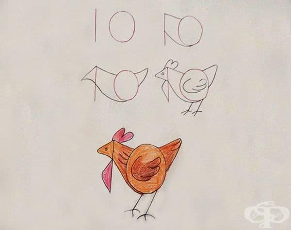 Научете детето си да рисува с помощта на цифри и числа