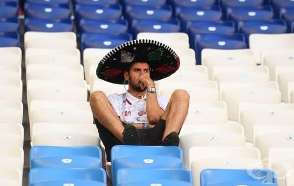 След играта Бразилия - Мексико. Резултат 2: 0. Бразилия спечели.
