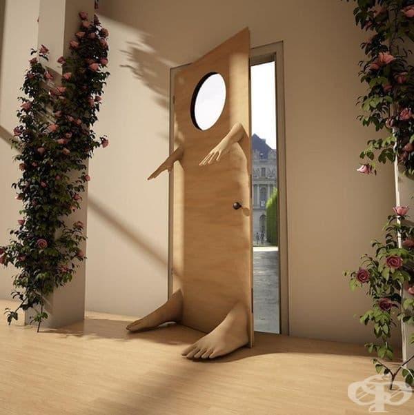 Бихте ли си поръчали такава врата за вашия дом?