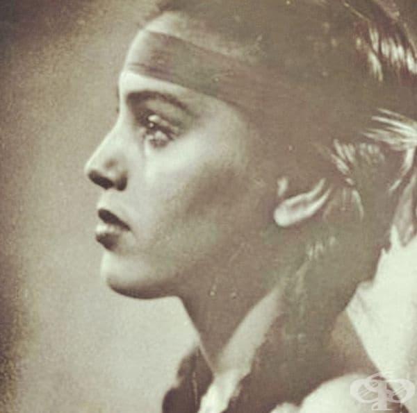 Снимка на бабата на младата Джесика Алба.