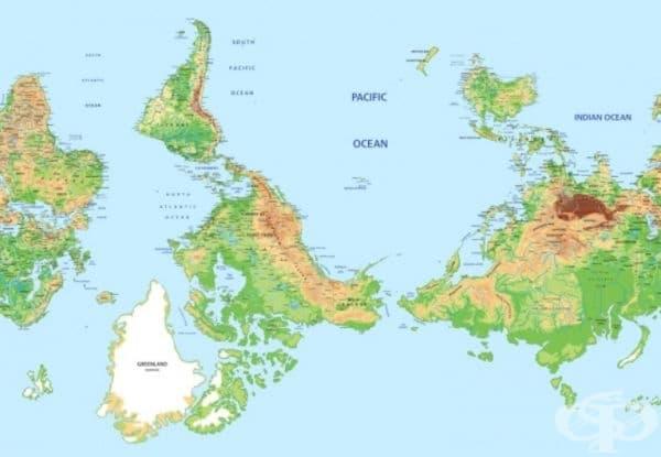 Чили. Учени от Чили, наблюдавайки своите съседи от Южното полукълбо, са се опитали да направят географска революция. По този начин Чили също се издига до върха на света и това би трябвало да се отрази на самосъзнанието на гражданите.