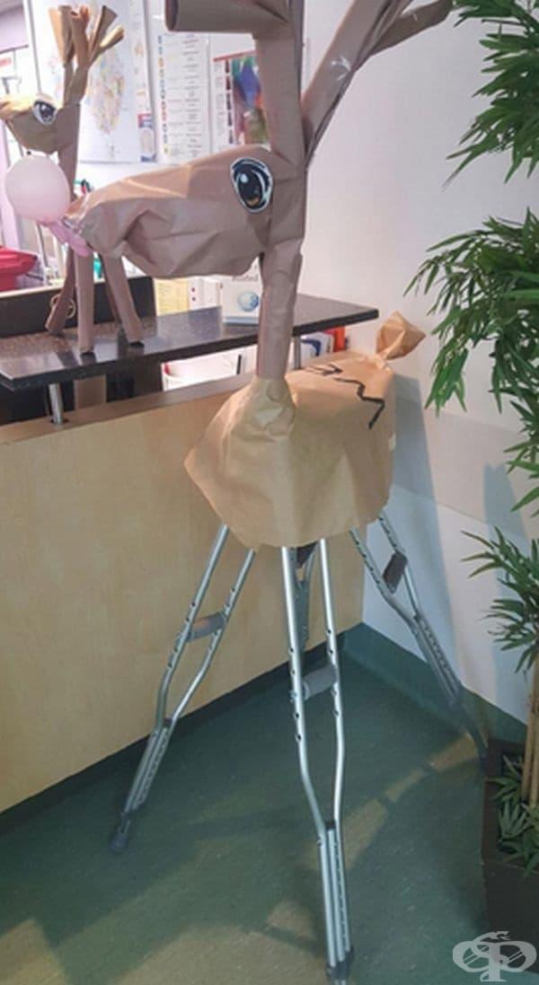 Медицински вариант на коледен елен.
