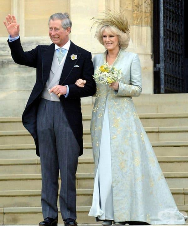 Херцогинята на Корнуол Камила, 2005 г.