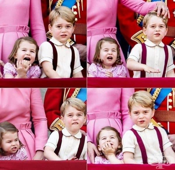 Децата им са толкова сладки.