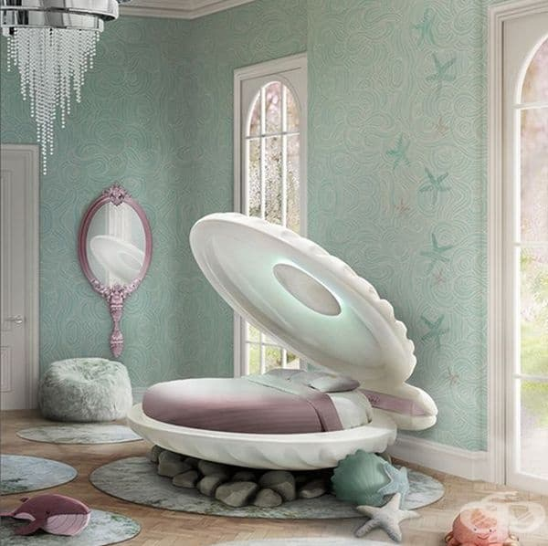 Това легло ще ви накара да се почувствате като малка перла.
