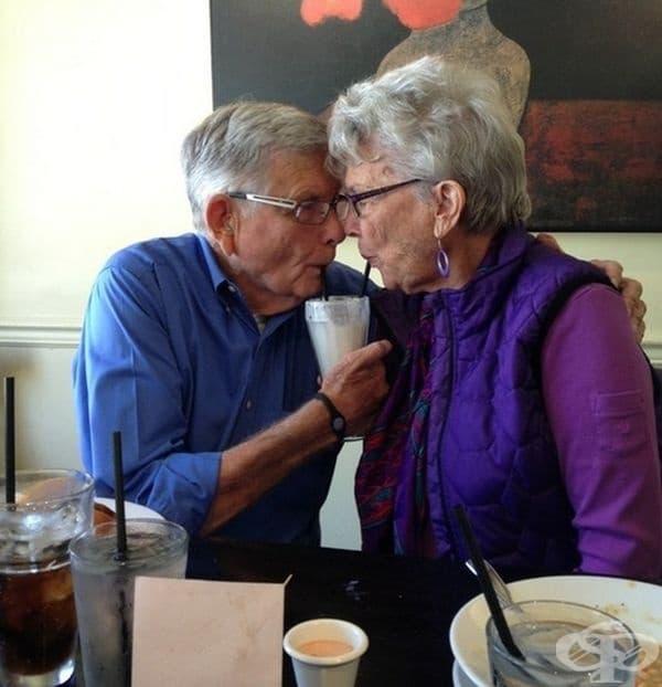 Любовта не познава възрастови граници.