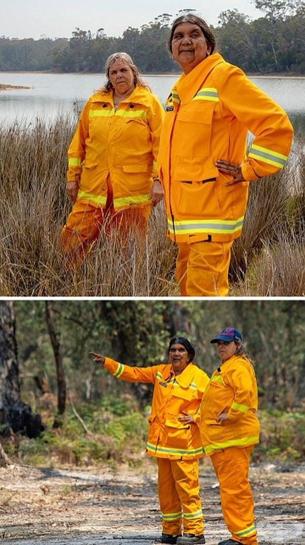 Местен австралийски пожарен отряд от жени работи денонощно, за да спаси земята си.