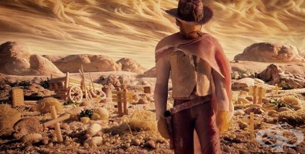 Пастата е добра идея за пустиня.