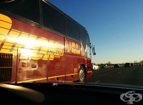 """""""Благодарение на този автобус имах Wi-Fi до Сиатъл""""."""