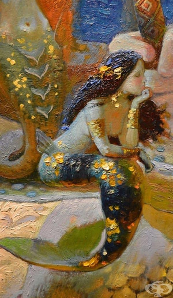 Женската мистична същност, през погледа на руски художник