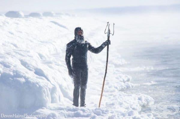 Ето какво се случва, докато сърфирате по време на полярния вихър