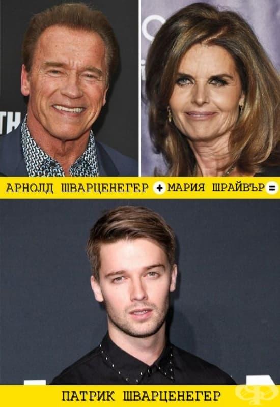 12 звездни синове, които наследяват харизмата на своите родители