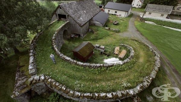 Плевня в Норвегия