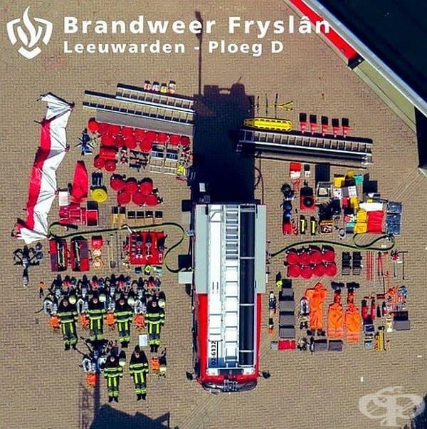 Холандски пожарен автомобил