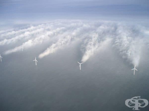 Ветрогенератори, Дания.