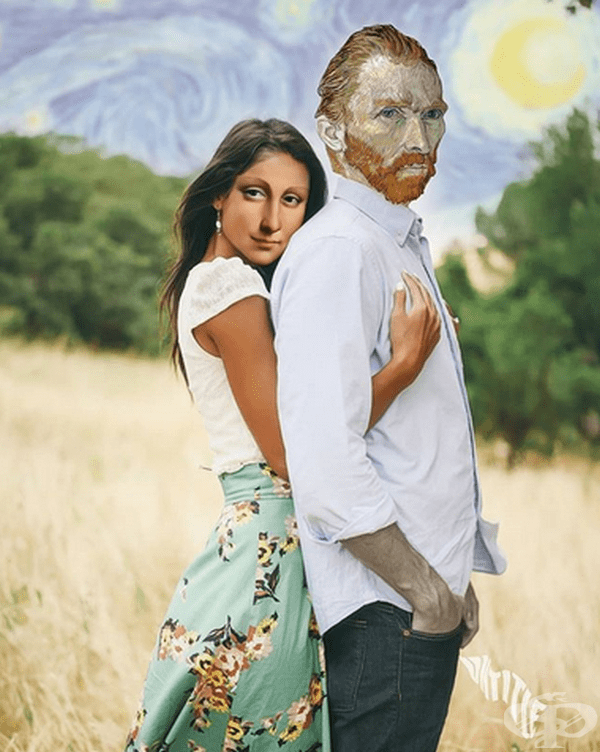 Мона Лиза и Винсент ван Гог