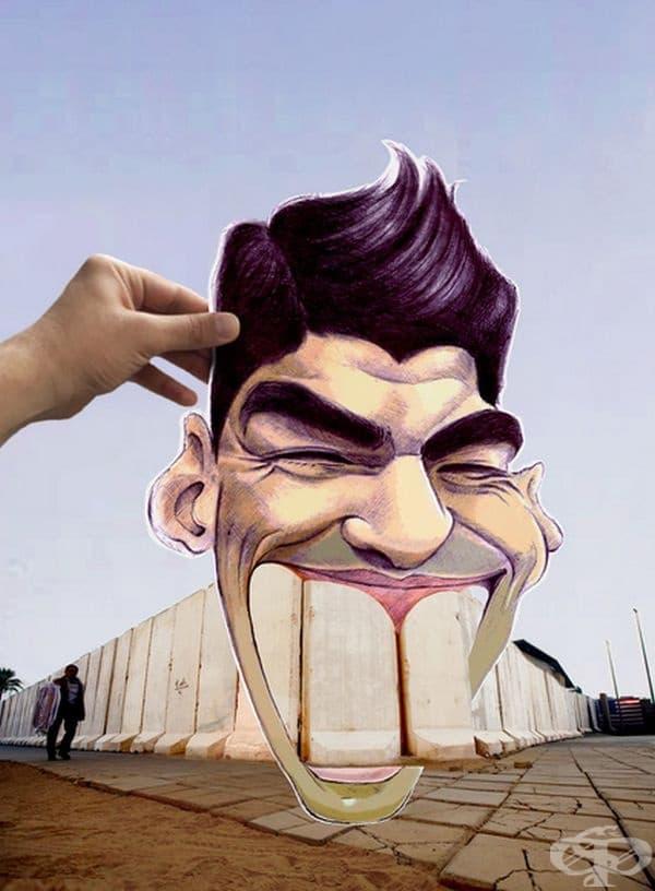 Вижте как може да се създаде усмивка от тъга
