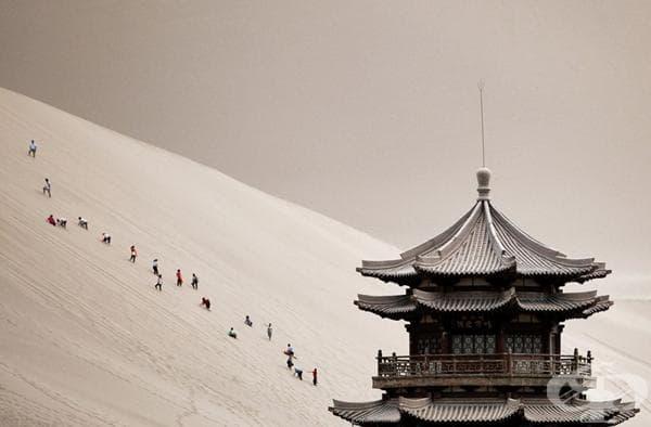 Провинция Гансу в Китай.