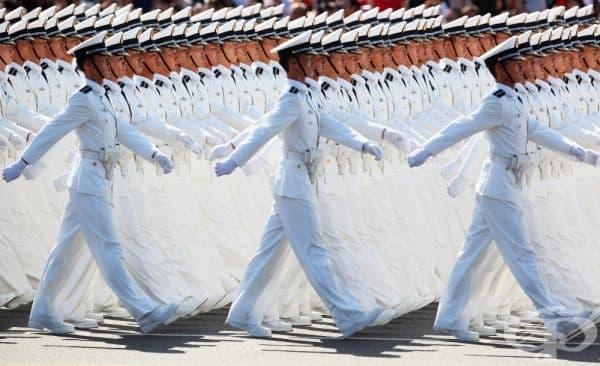 Китайското изкуство на парада.