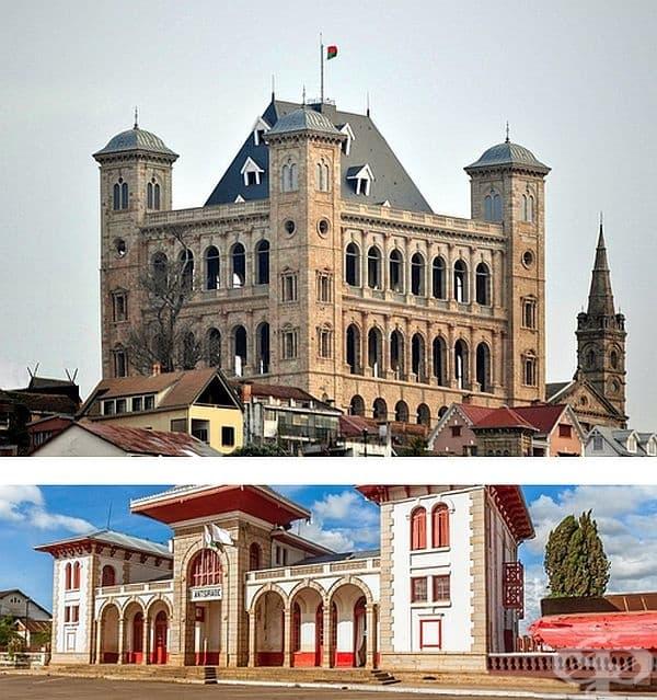 Мадагаскарска архитектура