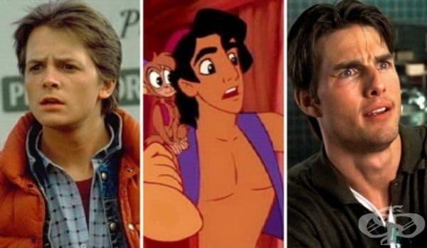 """""""Аладин"""": Първоначално образът на Аладин е заимстван от Майкъл Дж. Фокс (""""Завръщане в бъдещето""""), но продуцентите смятат, че той е прекалено детински и го заменят за този на Том Круз."""