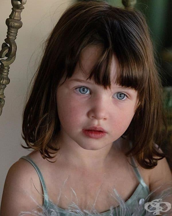 Дашиъл Едан Андерсън, дъщеря на Мила Йовович.