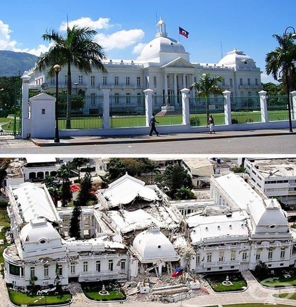 Земетресение в Хаити 2010 г. - най-голямото земетресение, взело повече от половин милион жертви. Няколко часа след стихията е останало само хаос и разруха.