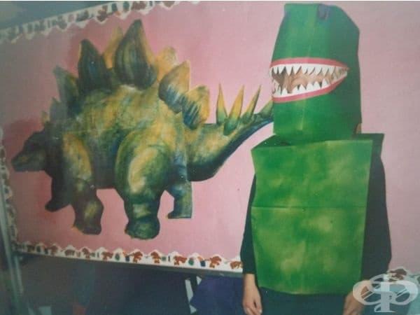 Един страшен динозавър.