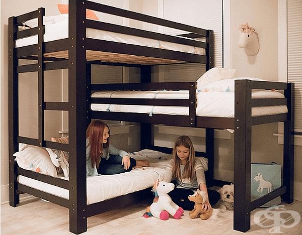 Кой каза, че всички легла трябва да са едно над друго в редица?