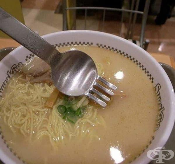 Универсален кухненски прибор, подходящ за всяка храна.