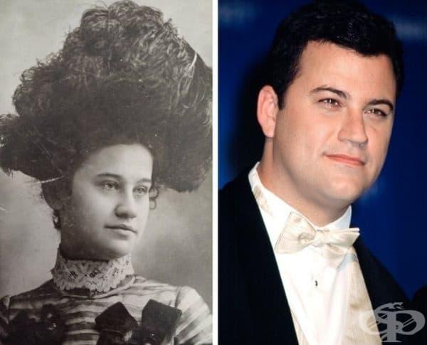 """""""Моята прабаба изглежда точно като Джими Кимъл."""""""