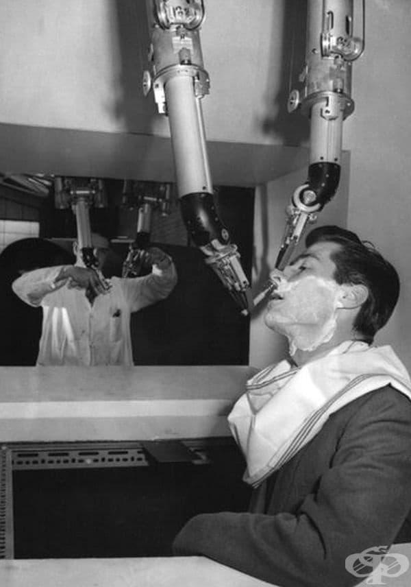 Апарат за бръснене, 1959 г.