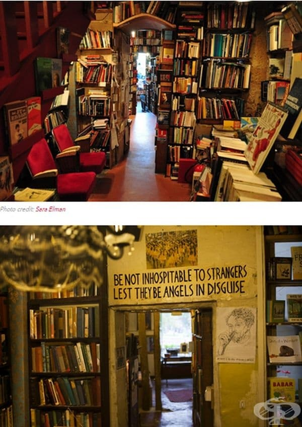 Shakespeare & Company в Париж, Франция
