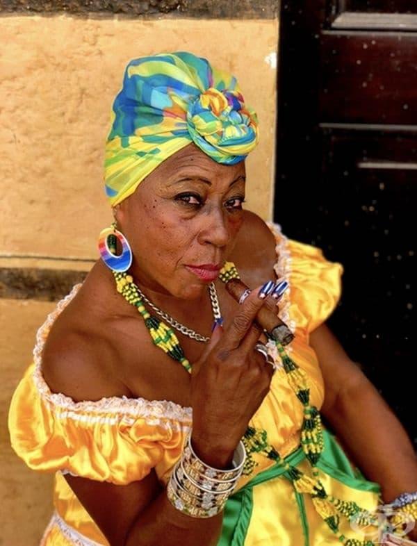 Красива жена от Куба.